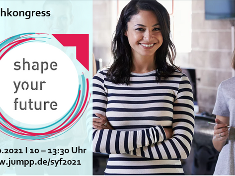 """Digitaler Fachkongress """"Shape your future"""" am 28.10.2021, 10:00 - 13:30 Uhr"""