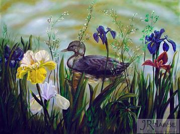 Garden Duck