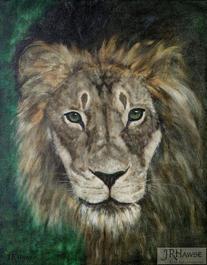 Lion-Green Eyes
