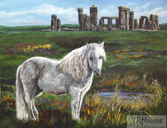 Celtic Pony - Ancient Traveler