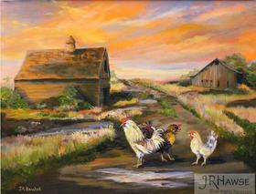 Runaway Chickens