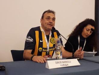 Carlos Barocelli visita Italia