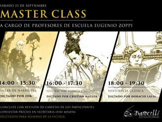MASTER CLASS ESCUELA EUGENIO ZOPPI