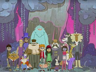 Serie animada desarrollada por alumnos y docentes