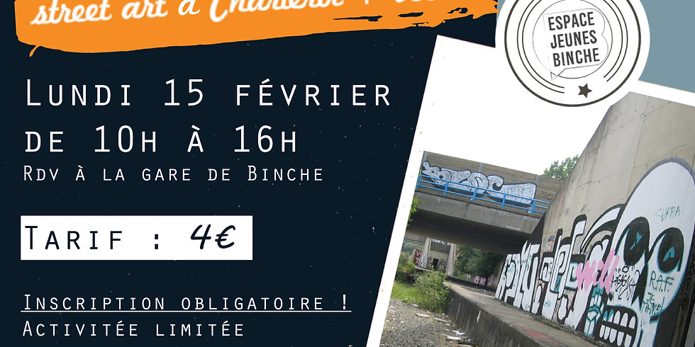 Sors avec la Mj ! Parcours graff et Urbex à Charleroi