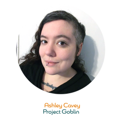 Ashley Cavey is our Project Goblin - she helps us stay on track with a minimum of growling. She joined Prax in June of 2020 after years in the mortgage industry, where she received a Circle of Excellence award for her work. Ashley is also a LARPer and horror movie enthusiast in her free time. She lives in Baltimore, Md with her three cats and year-round Halloween decor, only some of which the cats have claimed.