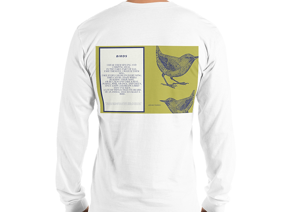 """Birds"" Long Sleeve T-Shirt"