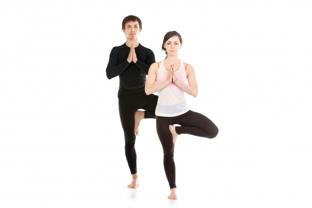 Tree pose for stress releif