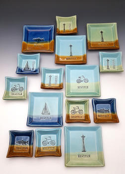 Seattle Themed Dishes