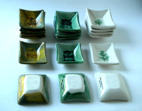 Small Dishes in Three Colors