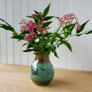 Green Cedar Vase