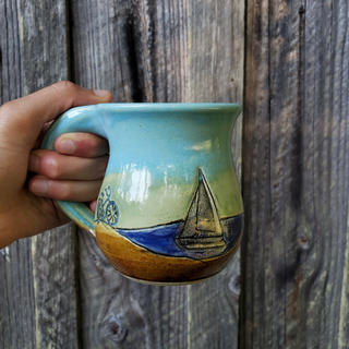 Sailboat Seattle Mug