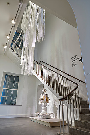Installation by Wanying Liang for Ting-Ying, COLLECT, London, 19