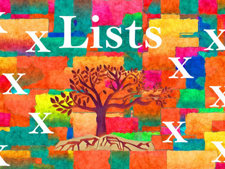 In Praise of Lists