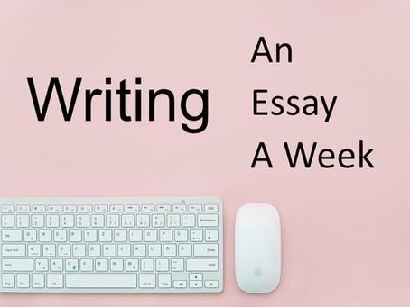 An Essay A Week