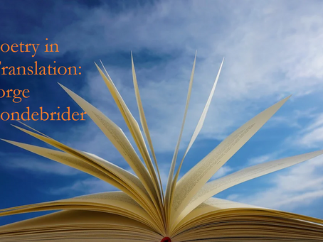 Poetry in Translation: Jorge Fondebrider