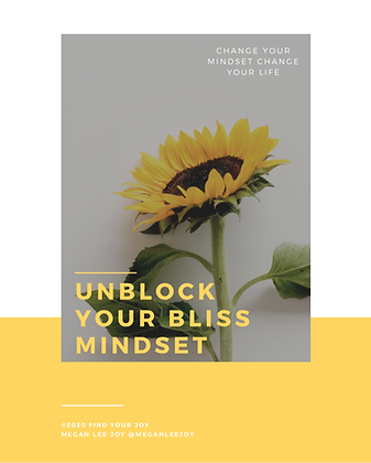Unblock Your Bliss Mindset: A Workbook
