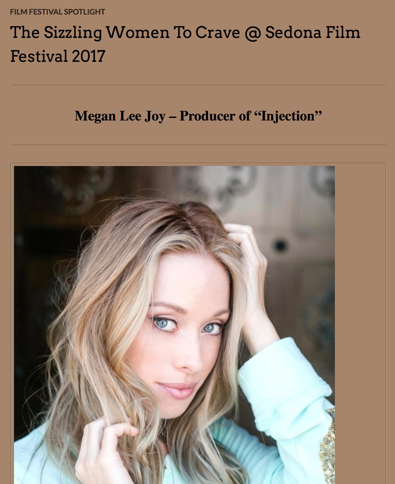 Megan Lee Joy, Sedona Film Festival