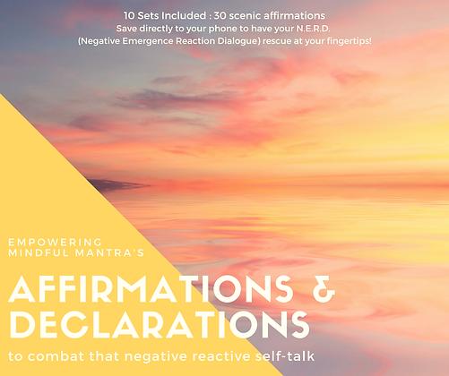 Affirmation & Declarations