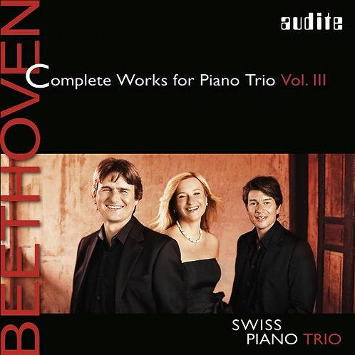 "BEETHOVEN ""piano trios vol III"""