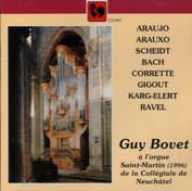 L'orgue Saint-Martin (1996) de la Collégiale de Neuchâtel