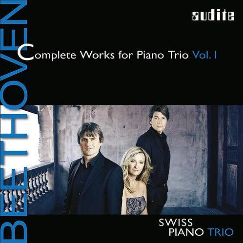 """BEETHOVEN """"piano trios vol I"""""""