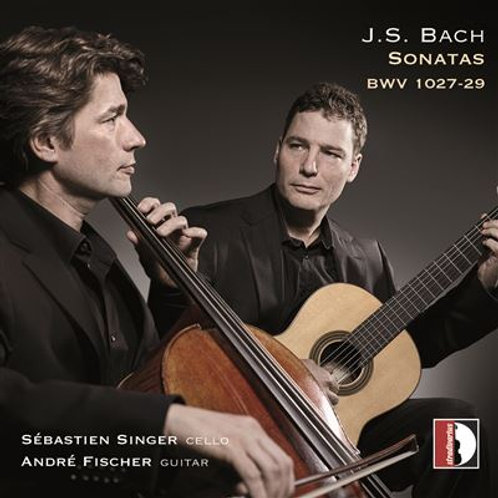 "BACH ""the sonatas for gamba"""