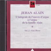 Intégrale de l'œuvre d'orgue de Jehan Alain sur l'orgue construit par son père, 1995, Gallo
