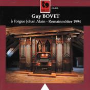 L'orgue de la famille Alain à Romainmôtier VD/Suisse