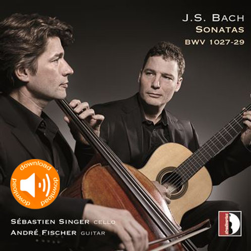 J.S. Bach - Sonata No.III BWV 1027 in G minor (audio wav)