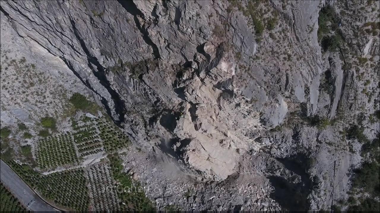 Nettoyage de falaise - Chamoson