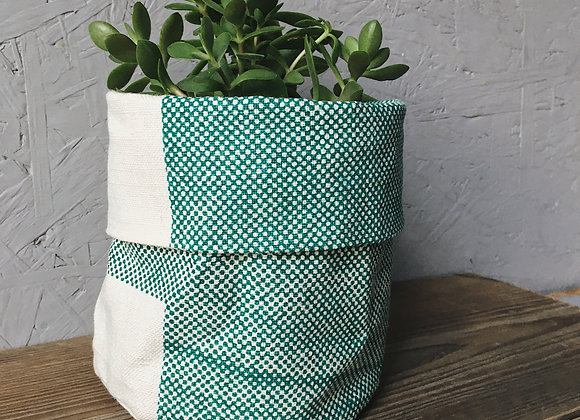Bright Teal, Bright Blue Inner Plant Cover