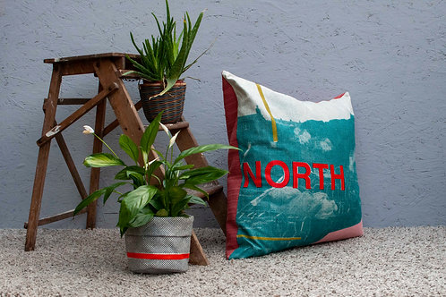 Large North Cushion - Sherbert Edition