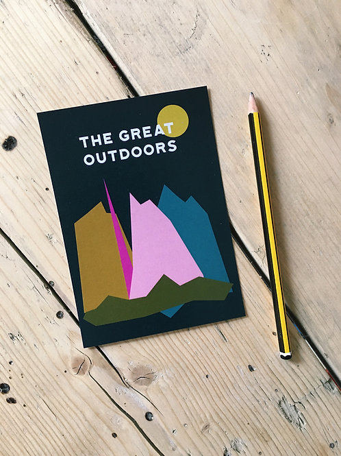 The Great Outdoors A6 Art Print