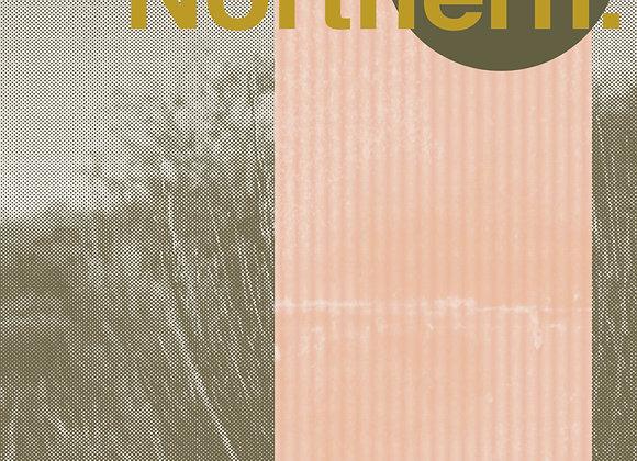 Northern Print - Green/Pink
