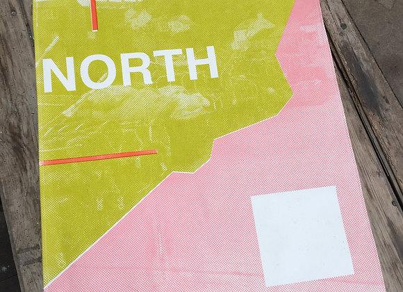 North Sherbet A1 Wall Hanging