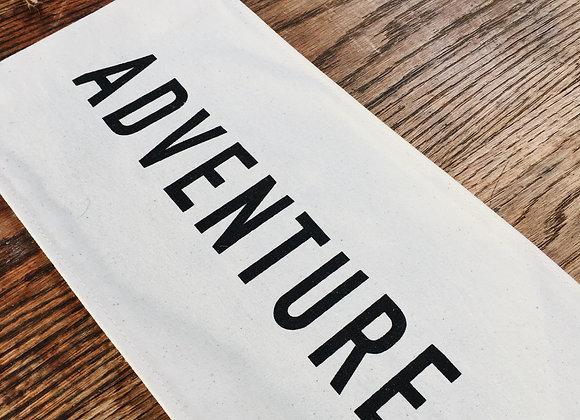 Adventure Canvas banner