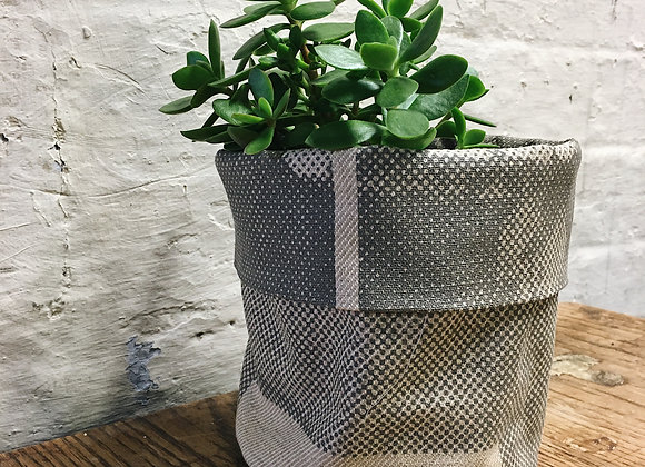 Grey and Mustard Base Plant Cover