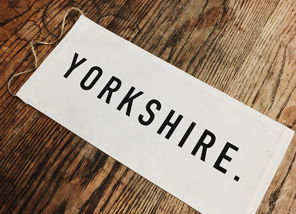 Yorkshire Canvas banner