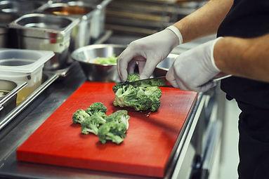 Broccoli Getting Cut
