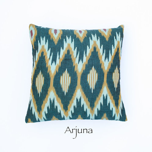 Ikat Throw Pillow Case | Arjuna | 18 Square or 20 x 12 Lumbar