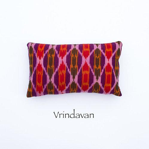 Ikat Throw Pillow Case | Vrindivan | 18 Square or 20 x 12 Lumbar