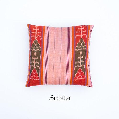Ikat Throw Pillow Case | Sulata | 18 Square or 20 x 12 Lumbar