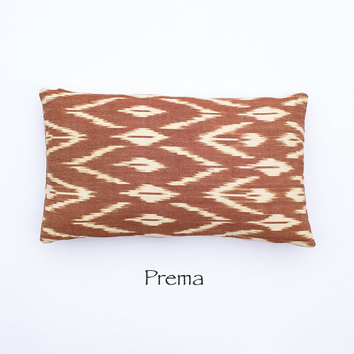 Ikat Throw Pillow Case | Prema | 18 Square or 20 x 12 Lumbar
