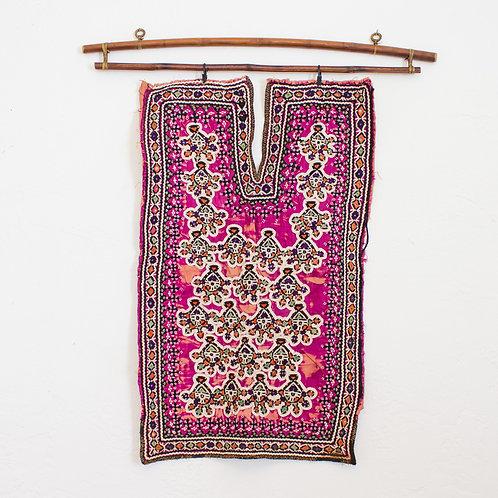 Vintage Indian Textile | Embroidered Indian Choli | Rabari Tribe