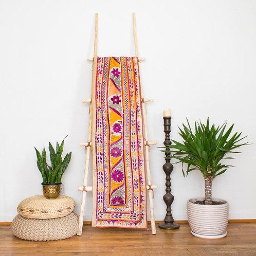 Vintage Indian Toran Embroidered Banner | Gujarat India