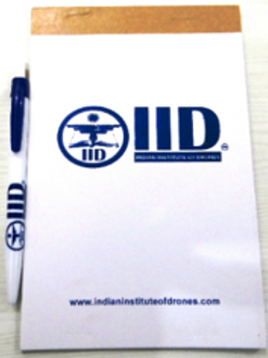 IID Note pad and Pen