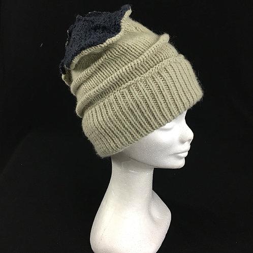 Cozy winter cream hat