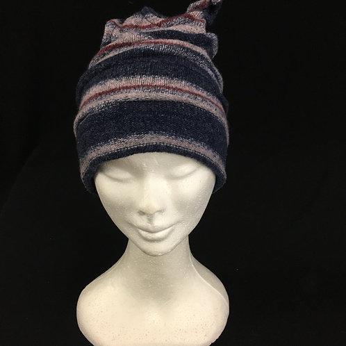 Striped funky hat