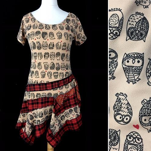 Asymmetrical Owl dress 🦉🦉